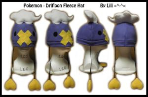 4th Gen - Drifloon Hat by LiliNeko