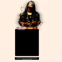 Aaliyah tribute by trashxstudio