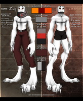 Zub's ref sheet 1.3.2014 (info in descr.) by Drawotion