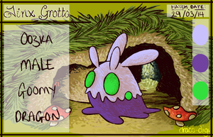 PKMNation Oozka the Goomy by Draco-Digi