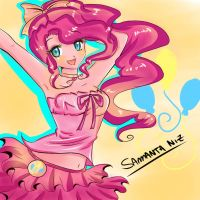 Pinkie Pie de My Little Pony by keitenstudio