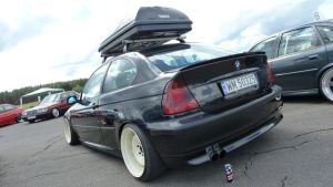 BMW E46 Compact - Rear by Arek-OGF