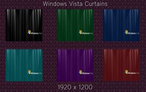 Vista Curtains by MikeyStudios