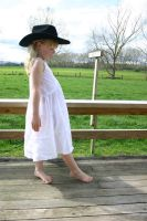 Paige 137 White Dress by Paigesmum-stock