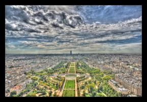 Champ de Mars by Thelive33
