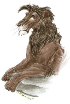 AT: Dark Lion by TheEvisceration