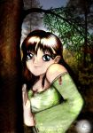 .:Eyes of the forrest:. by x3Chibix3