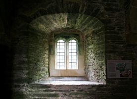 Berry Pomeroy Castle 17 GothicBohemianStock by OghamMoon
