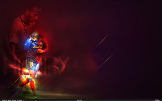 Thierry Henry by adomas