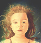 Young Girl - Pastel drawing by Romeoartist