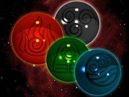 Avatar TLA - Elemental Orbs by Sturm1212