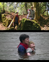 Merlin cosplay Forest of Dean - screenshots by Ta-moe