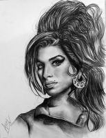 Amy Winehouse by avneetviera