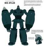 Big Atlas-fanmade megadeus by crovirus