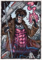 Gambit Sketch Card 2 by tonyperna