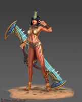 Smite: Neith, Weaver of Fate by Minionslayer