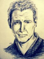 Harrison Ford by momentaifey