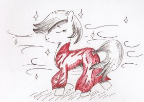 A Mare in Red by McStalins