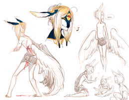 more yngve sketches by alpacasovereign