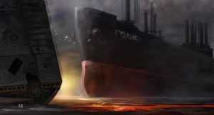 Ship breaking by wi-flip-ff