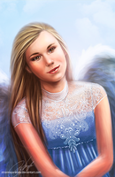 Angel by strannaya-anna