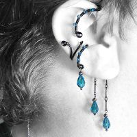 Indicolite Ear Wrap and Cuff Set v15- SOLD by YouniquelyChic