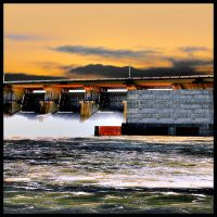 Power Dam by waterboy