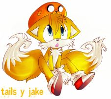tails y jake 2 xD by alexhatsune