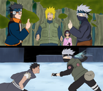 Kakashi v Obito by DanyShiny