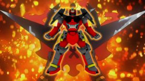 3D Gurren Lagann GATTAI by Ultimatetransfan