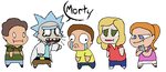 The Smiths (rick and morty) by KitCatKombo