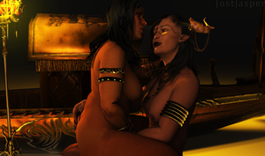Love Under the Qun: Naked Diplomacy II by Just-Jasper