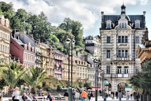 Karlovy Vary by daily-telegraph