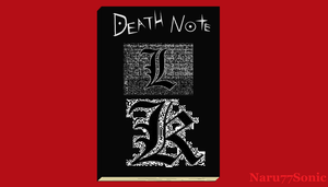 The Paint Death Note by Naru77Sonic