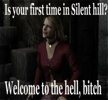 First time in Silent hill by Mefistores777