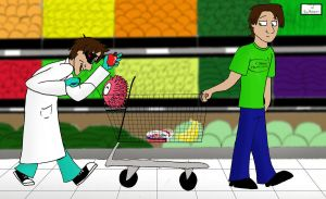 Grocery Shopping by Trumpeteer34