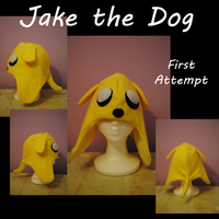 Hat: Jake the Dog by HellcatKennels