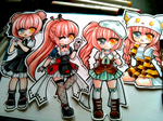 Chibi Works by Chikukko