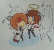 [AT, Al and Michel] My guardian angel by superfrancy77
