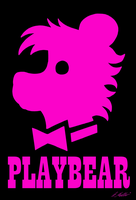 PLAYBEAR PINK by NeroUrsus