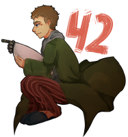 42 Is The Answer of The Universe by Zashache
