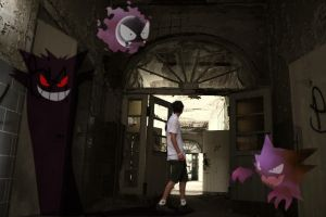 Pokemon4Reelz Gengar Gang by tomeadesign