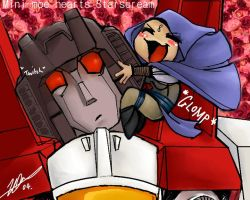 Starscream for mini-moe by cheenot