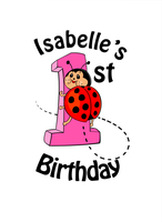 Isabelle's 1st birthday by Mercurian