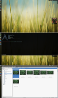 Spring Archlinux with KDE by printesoi