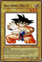 Goku DBZ trading card game by Kiaokenx10