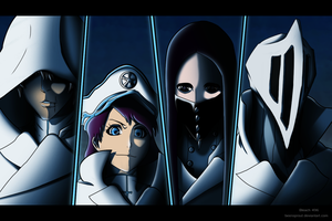 Bleach 496 Colouring - Quincies by MrChrizpy