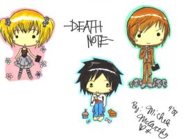 Death Note chibis. by Unichi