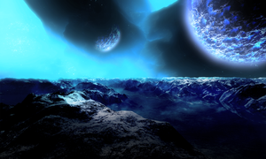 The unknown planet v2.0 by teundenouden