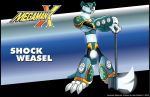 MMX Fan Maverick - Shock Weasel by justicefrog